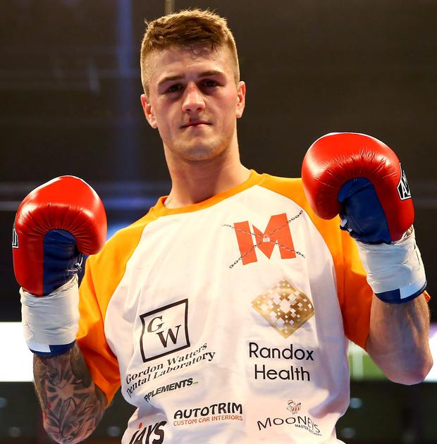 Marc McCullough is the WBO World number four ranked featherweight