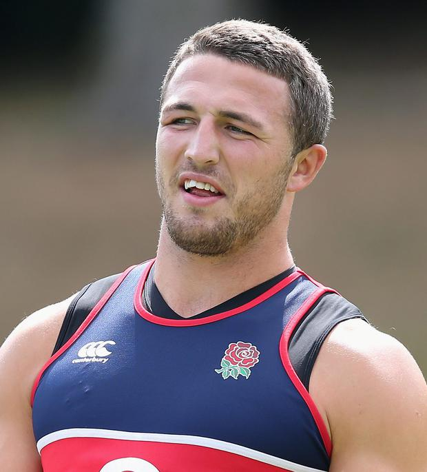 Sam Burgess is being placed in a midfield role for the upcoming World Cup