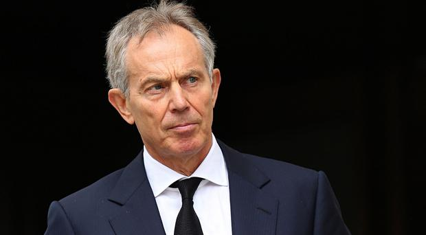 Tony Blair has denied intervening in negotiations between Libya and US.