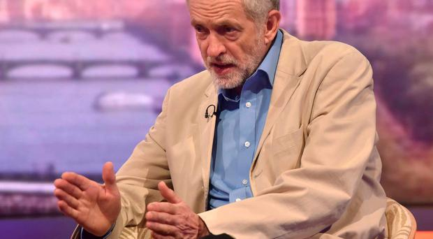 Jeremy Corbyn told the BBC's Andrew Marr programme: