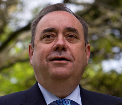 Former First Minister Alex Salmond has said that a second referendum on Scottish independence was