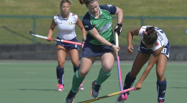 Milestone: Shirley McCay has won more Irish caps than any other female hockey player