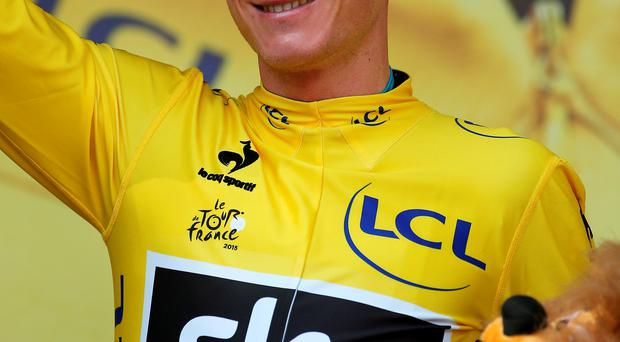 British cyclist Chris Froome has won the Tour de France for the second time in three years