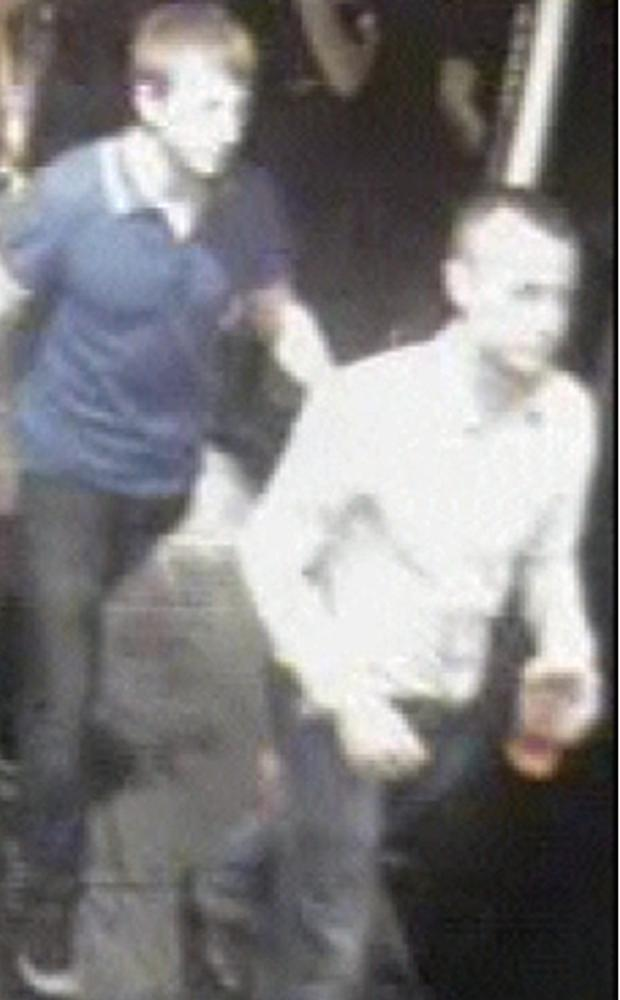 Police say the two men may have witnessed the incident outside Kellys in Portrush