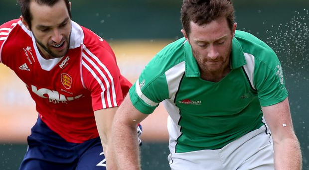 Back home: John Jackson to play for Mossley against Irish