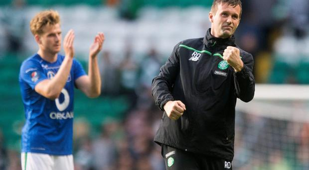 Tough test: Ronnie Deila says Celtic will have to be at their best to beat Azerbaijani champions Qarabag tonight