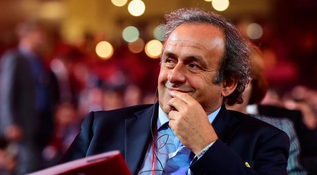 President of UEFA Michel Platini confirms his bid for FIFA presidency.