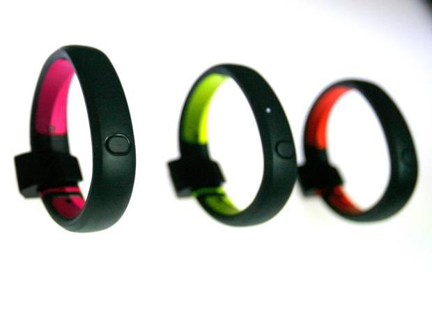 Nike FuelBands are designed to track calories and movement