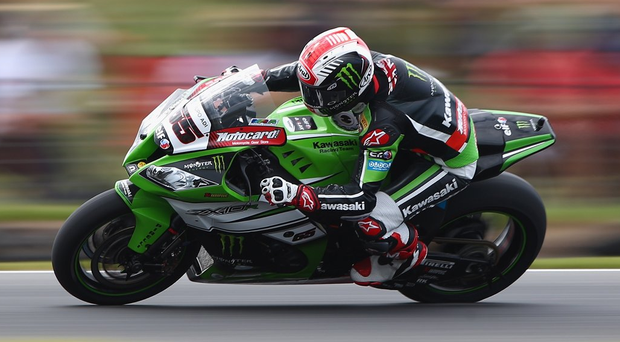 Nearly there: Jonathan Rea hoping to be on the fourth Northern Ireland-born World Superbike champion