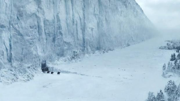 The Game of Thrones ice wall is actually a disused cement works in Co Antrim