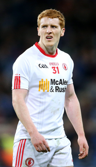 Key influence: Peter Harte has been shining bright for Tyrone