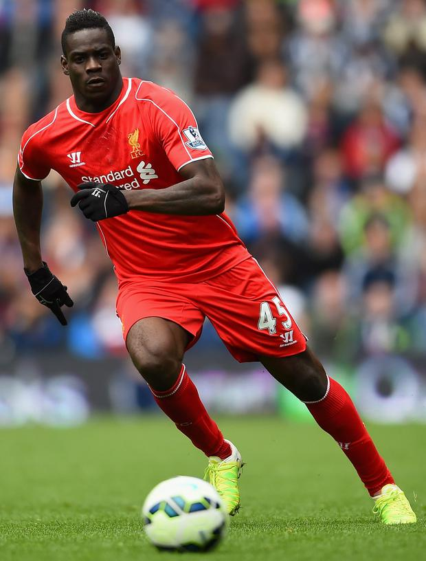 Kop misfit: Mario Balotelli has flopped since his Reds move