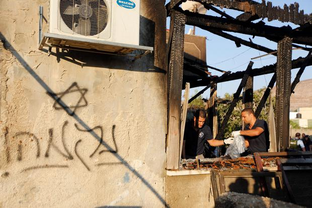 Palestinian baby burnt alive after masked \'Jewish extremists\' target ...