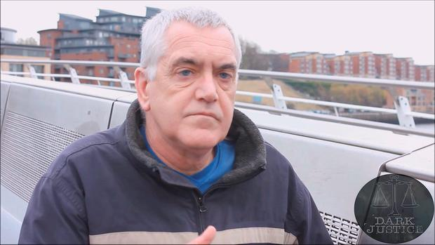 Barry Scott, who has been jailed for 12 months after he fell for an online sting by Dark Justice. Photo: Dark Justice/PA