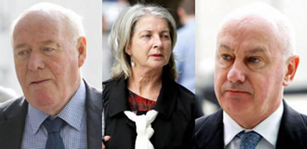Anglo three: Bernard Daly, Aoife Maguire and Tiarnan O'Mahoney were all jailed for their role in tax fraud