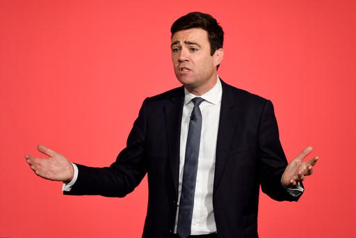 Labour leadership contender Andy Burnham the preferred candidate among general public. Joe Giddens/PA Wire.