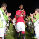 Comeback kids: Dale Farm Milk Cup organisers are hoping that Manchester United will return next year