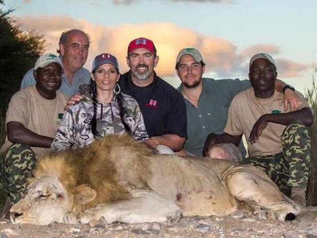 Tourists pay thousands of pounds to hunt animals in South African safaris including the Big Five elephant, buffalo, lion, leopard and rhino