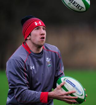 Pushing limits: Justin Tipuric and Wales are training hard