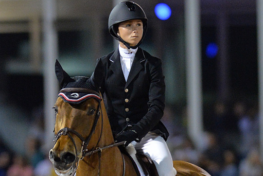 Georgina Bloomberg will be representing Team USA at Dublin Horse Show 2015.