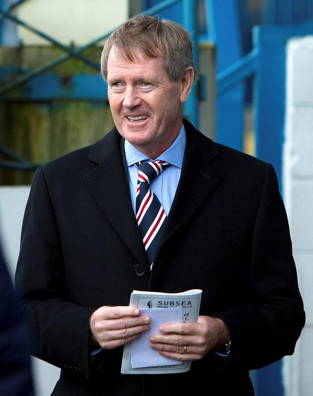 Football man: Dave King has plans to revitalise Rangers