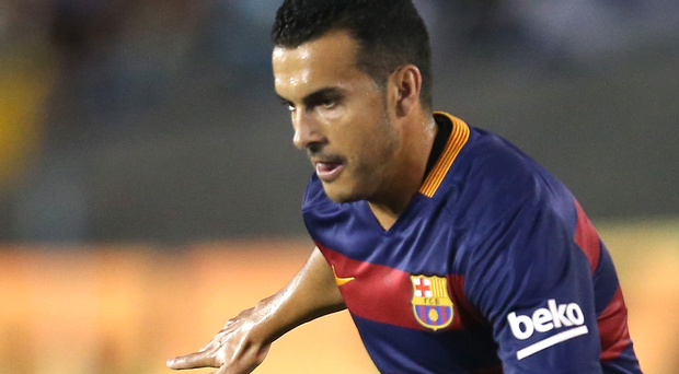 Barcelona's Pedro is on LVG's wanted list
