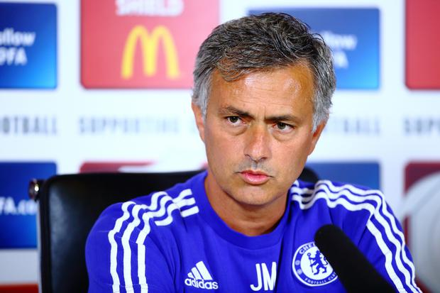 Chelsea manager Jose Mourinho has an on-going feud with Arsenal manager Arsene Wenger.
