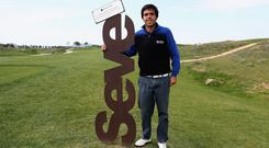 Hard act to follow: Javier Ballesteros will be in action at this week's Northern Ireland Open at Galgorm