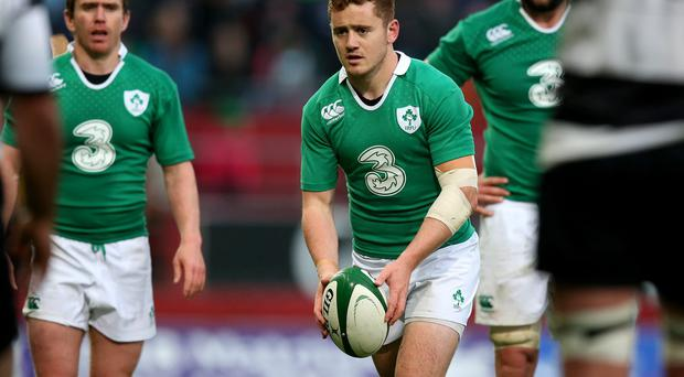 Come in Number 10: Paddy Jackson is in line to start for Ireland in Cardiff on Saturday