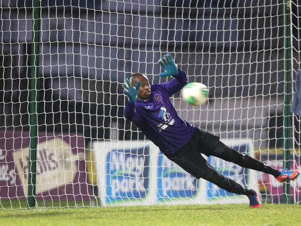 Safe hands: Alvin Rouse has returned to Ballinamallard and boss Whitey Anderson believes he will strengthen the defenc