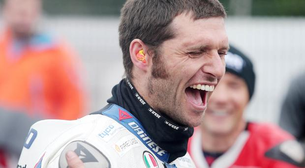Guy Martin at the Ulster Grand Prix 2015 Pic Jonathan Porter/Press Eye