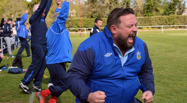 Ards Rangers manager Lee Forsythe hopes he and his players will have more celebrations this season