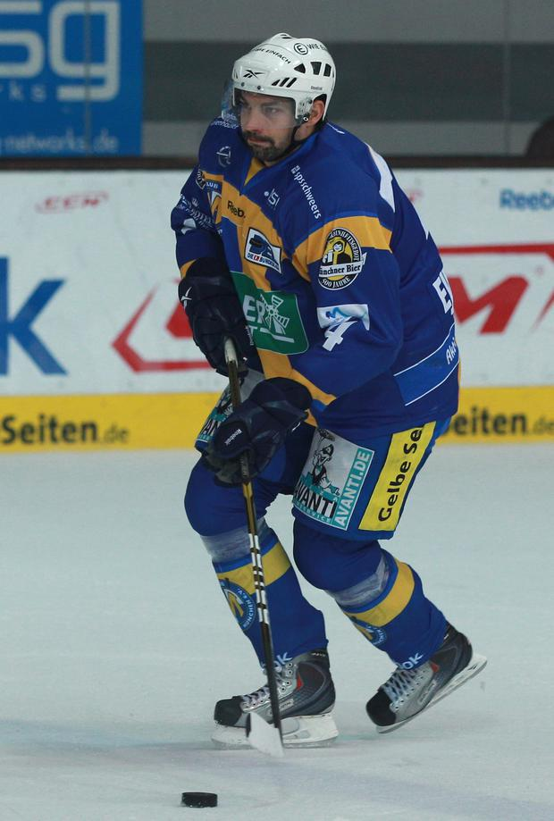 New face: Johan Ejdepalm has signed up with the Giants