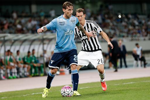 On the move: Lazio ace Lucas Biglia is set to join Manchester United