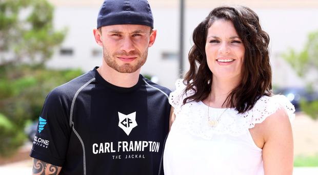 Carl Frampton and his wife Christine have put their luxury Banbridge home on the market.