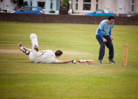 Belfast Telegraph V Donaghadee Cricket Club in aid of Autism NI.