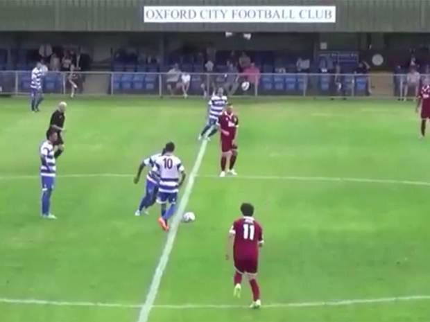 Oxford City player Bradley Bubb scores incredible goal in National League South