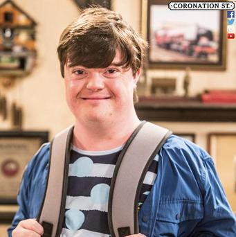 Liam Bairstow who is to play Cathy's nephew Alex Pic: ITV Coronation Street @itvcorrie