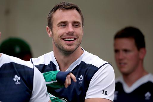 Bad memory: Tommy Bowe was left out in 2007