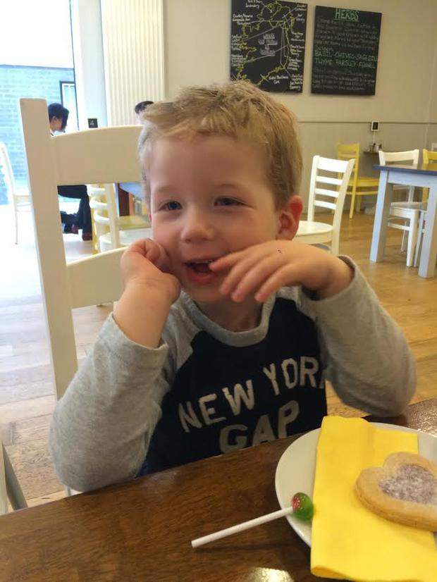Oliver Scullion (4) died in an accident at Hilden Brewery. Image supplied by Hilden Group