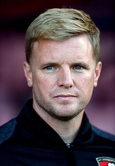 Eye for goal: Eddie Howe has won praise for his approach