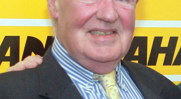 Seamus McAlister, one of Northern Ireland's best-known horse racing faces