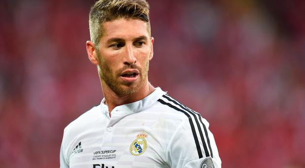 Real Madrid have announced Sergio Ramos has agreed a new deal with the club. Pic Joe Giddens/PA Wire.