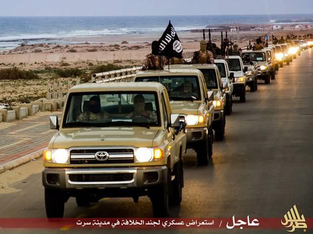 Isis militants are close to expanding their hold in the Libyan city