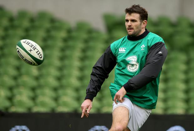 Ticking all boxes: Jared Payne had an impressive game for Ireland against Scotland on Saturday