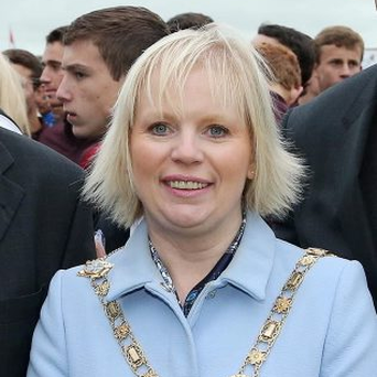 Michelle Knight McQuillan, Mayor of Causeway Coast and Glens Borough Council. Pic: Kelvin Boyes / Press Eye.