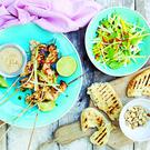 Turkey Satay Skewers