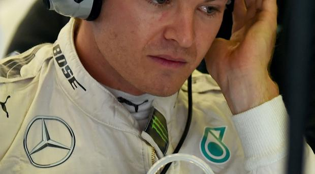 SNico Rosberg of Germany and Mercedes GP
