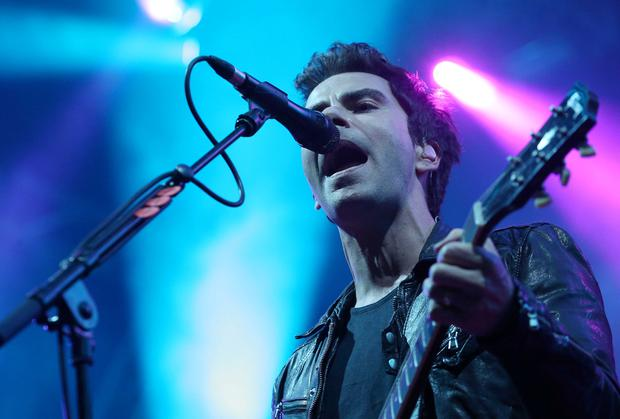 Stereophonics frontman Kelly Jones at Belsonic last night