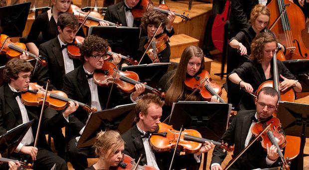 The summer concerts by the Ulster Youth Orchestra always create a buzz. Stock image